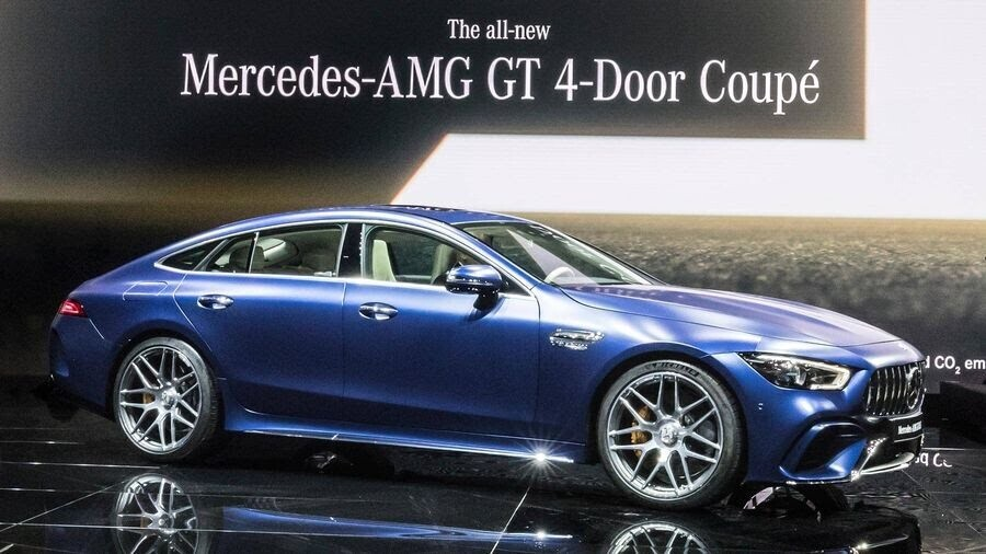 Mercedes-Benz khuấy động Geneva 2018 với AMG GT 4-Door Coupe 2019 - Hình 11