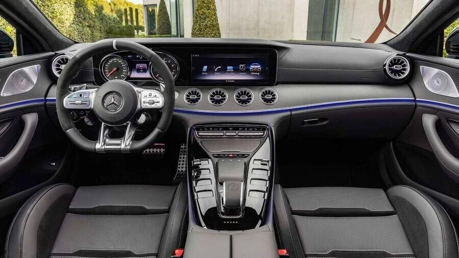 Mercedes-Benz khuấy động Geneva 2018 với AMG GT 4-Door Coupe 2019 - Hình 13