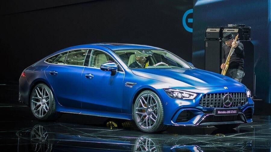 Mercedes-Benz khuấy động Geneva 2018 với AMG GT 4-Door Coupe 2019 - Hình 17