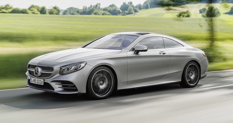 Mercedes-Benz S-Class Coupe 2018 chính thức lộ diện - Hình 2
