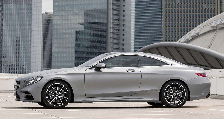 Mercedes-Benz S-Class Coupe 2018 chính thức lộ diện - Hình 3