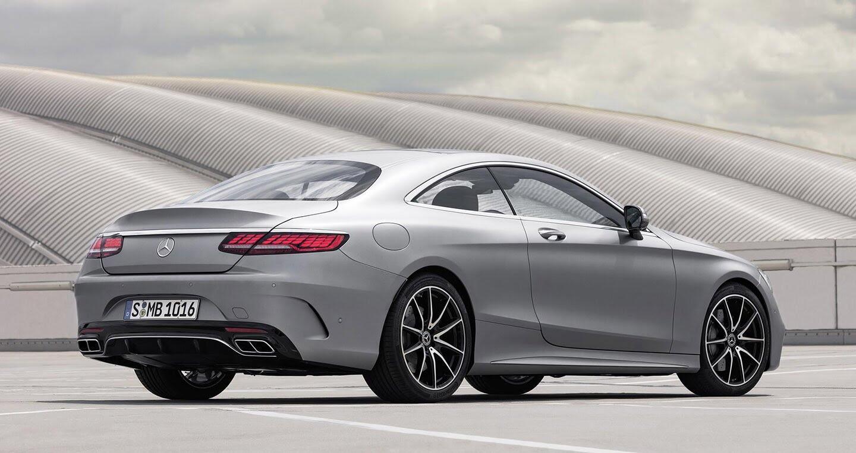 Mercedes-Benz S-Class Coupe 2018 chính thức lộ diện - Hình 4