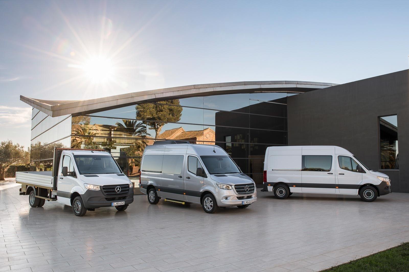 Mercedes-Benz Sprinter 2018 chính thức ra mắt: cỗ máy công nghệ và kết nối - Hình 1