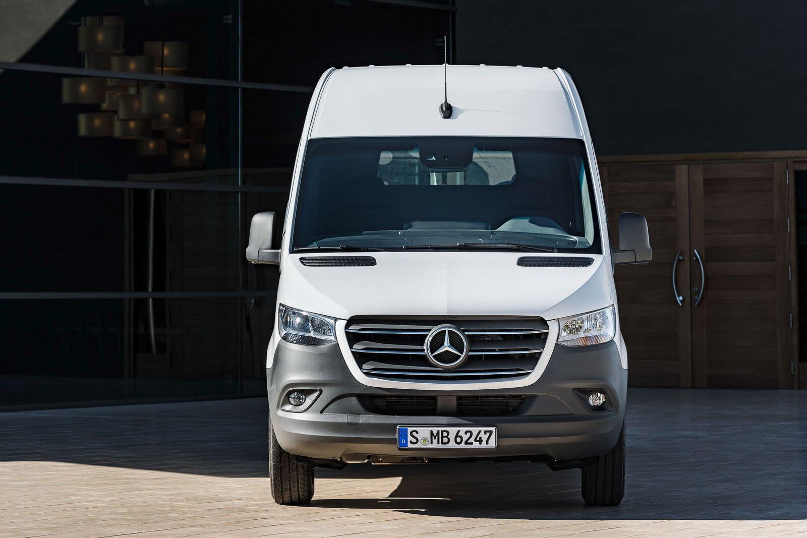 Mercedes-Benz Sprinter 2018 chính thức ra mắt: cỗ máy công nghệ và kết nối - Hình 8