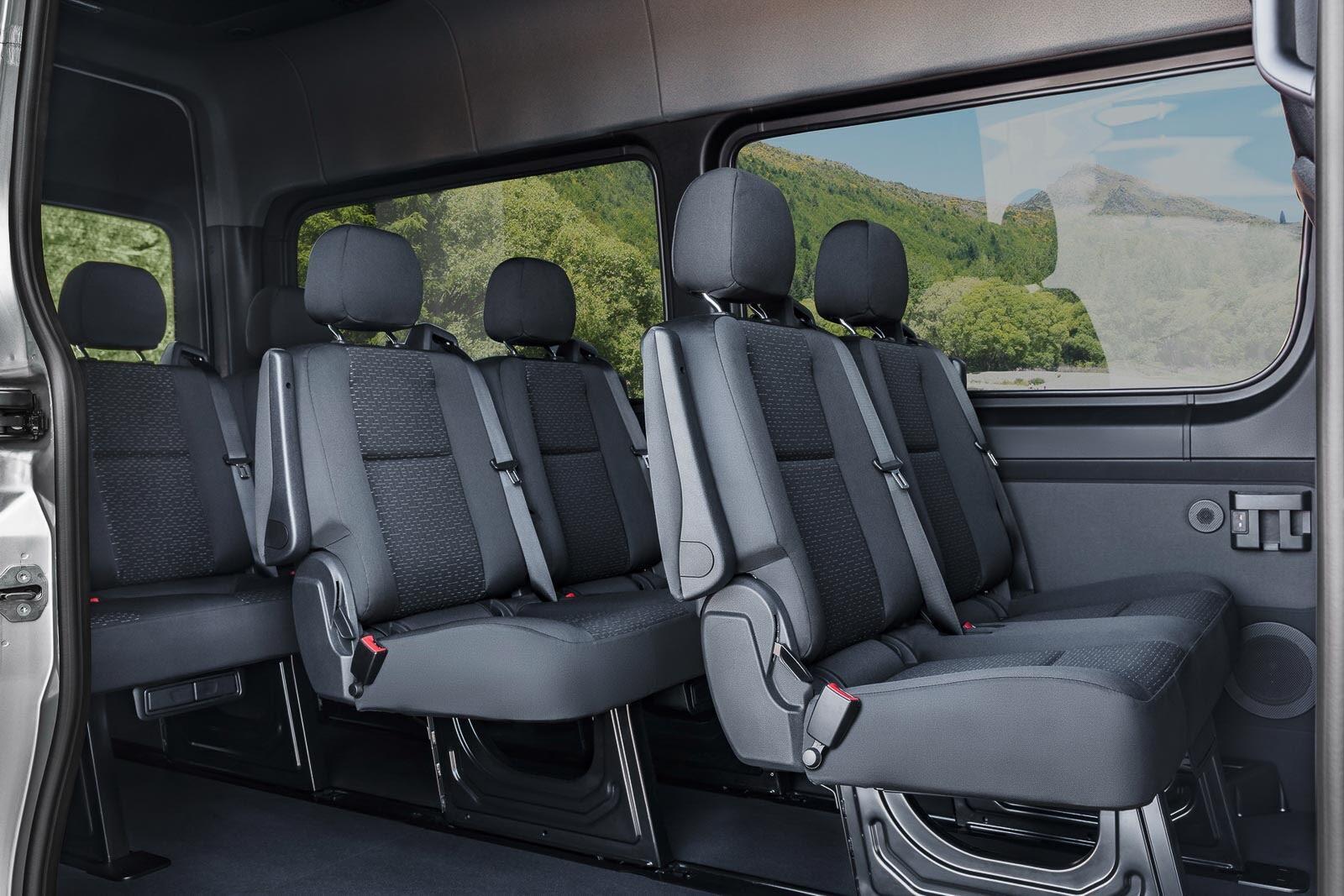 Mercedes-Benz Sprinter 2018 chính thức ra mắt: cỗ máy công nghệ và kết nối - Hình 17