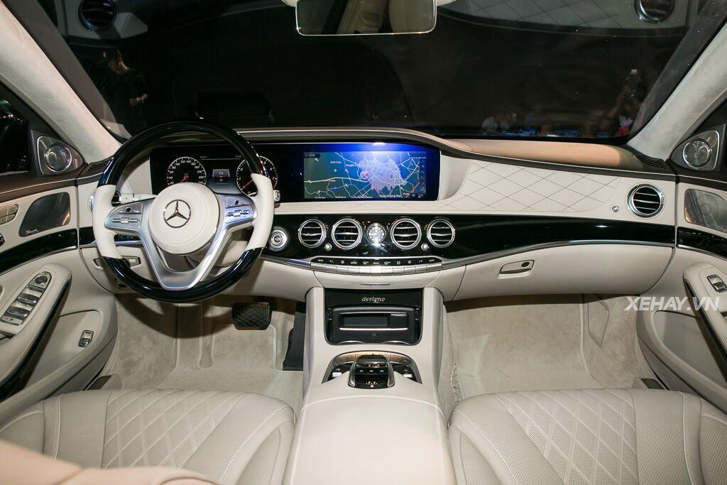 Mercedes-Benz Việt Nam chính thức trình làng S-Class 2018, giá từ 4,2 tỷ đồng - Hình 11