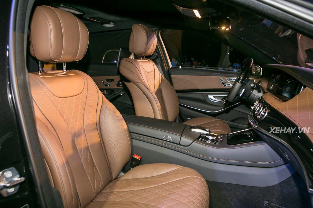 Mercedes-Benz Việt Nam chính thức trình làng S-Class 2018, giá từ 4,2 tỷ đồng - Hình 15