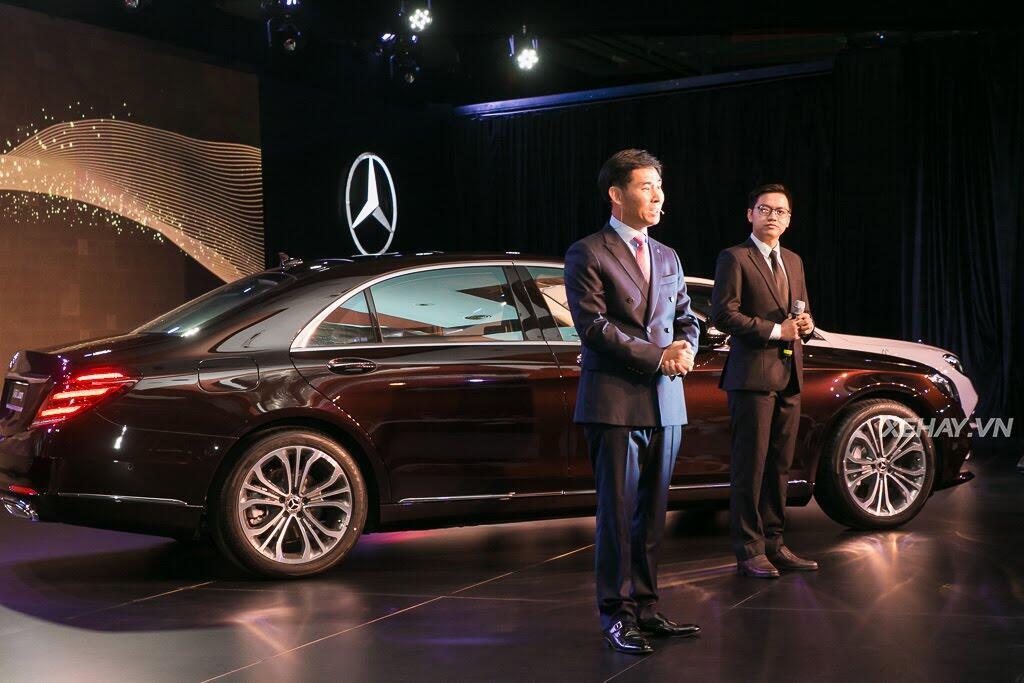 Mercedes-Benz Việt Nam chính thức trình làng S-Class 2018, giá từ 4,2 tỷ đồng - Hình 23