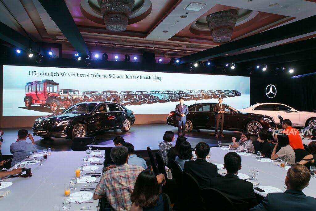 Mercedes-Benz Việt Nam chính thức trình làng S-Class 2018, giá từ 4,2 tỷ đồng - Hình 25