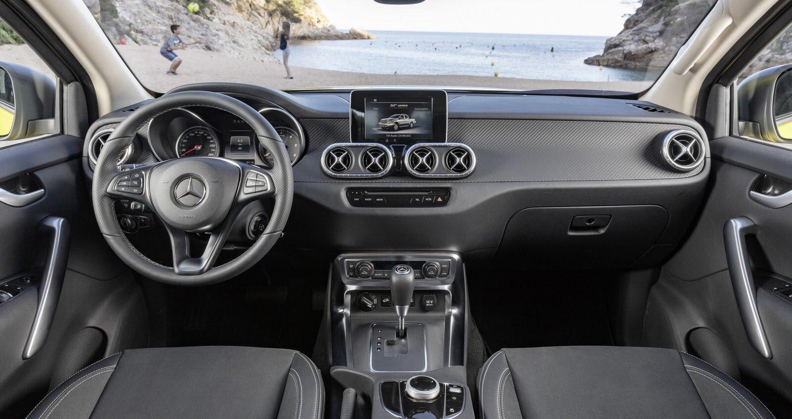 Mercedes-Benz X-Class: Bán tải hạng sang chính thức trình làng - Hình 3