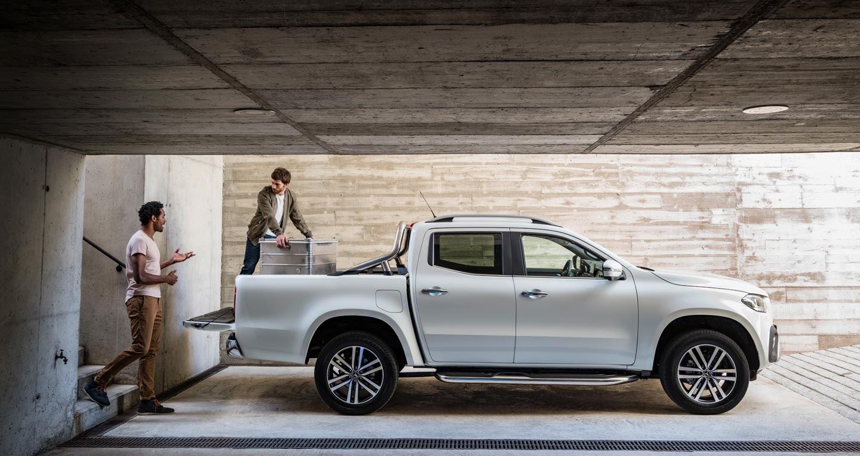 Mercedes-Benz X-Class: Luồng gió mới trong phân khúc bán tải - Hình 2