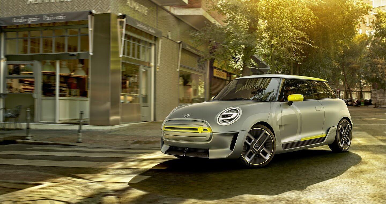 Mini giới thiệu mẫu xe điện dành cho tương lai Electric Concept - Hình 1