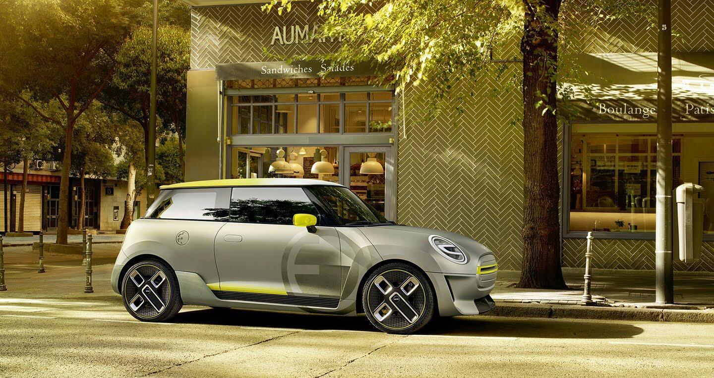 Mini giới thiệu mẫu xe điện dành cho tương lai Electric Concept - Hình 3