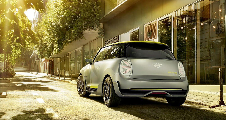 Mini giới thiệu mẫu xe điện dành cho tương lai Electric Concept - Hình 4