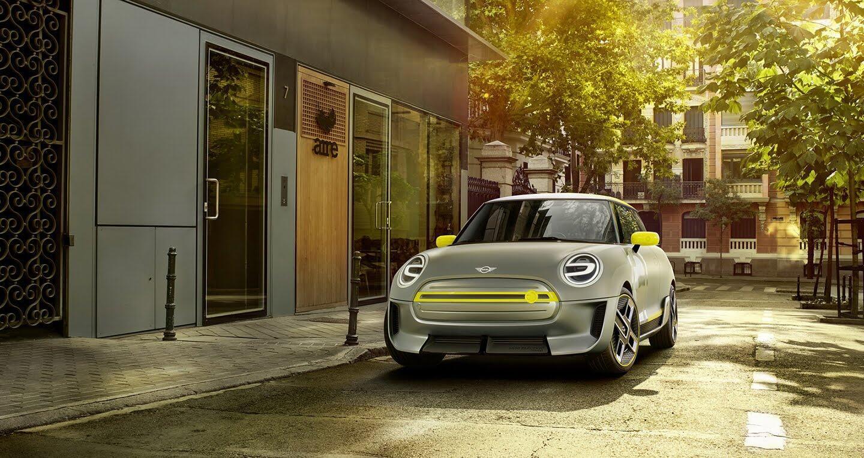 Mini giới thiệu mẫu xe điện dành cho tương lai Electric Concept - Hình 5