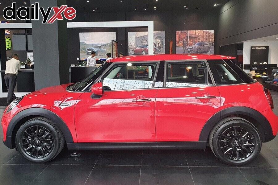 Thân xe thiết kế nhỏ gọn xinh xắn