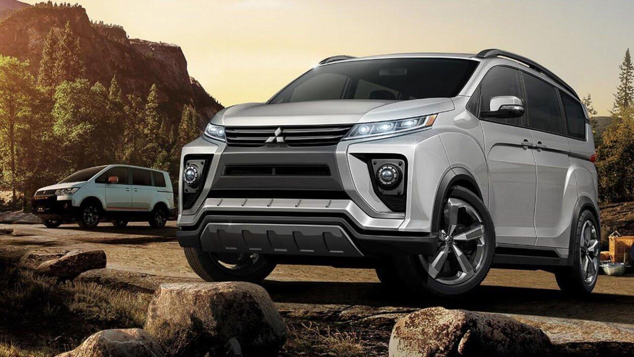 Minivan Mitsubishi thử nghiệm thực tế, chuẩn bị ra mắt vào cuối năm - Hình 3