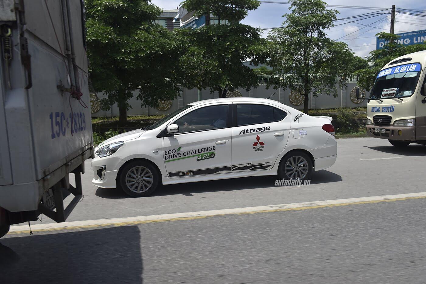 Mitsubishi Attrage lập kỷ lục mới về mức tiêu thụ nhiên liệu - Hình 6