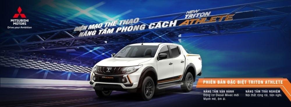 Mitsubishi giới thiệu phiên bản đặc biệt Triton Athlete tại thị trường Việt Nam - Hình 1