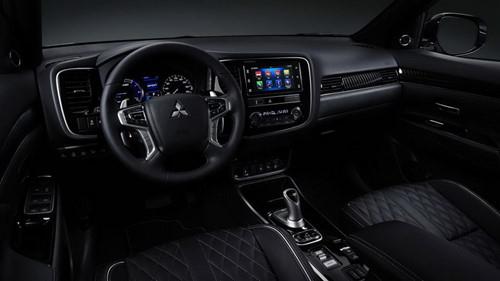 Mitsubishi Outlander PHEV 2019 nâng cấp nhẹ - Hình 3