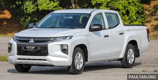 Mitsubishi ra mắt Triton bản gầm thấp tại Malaysia