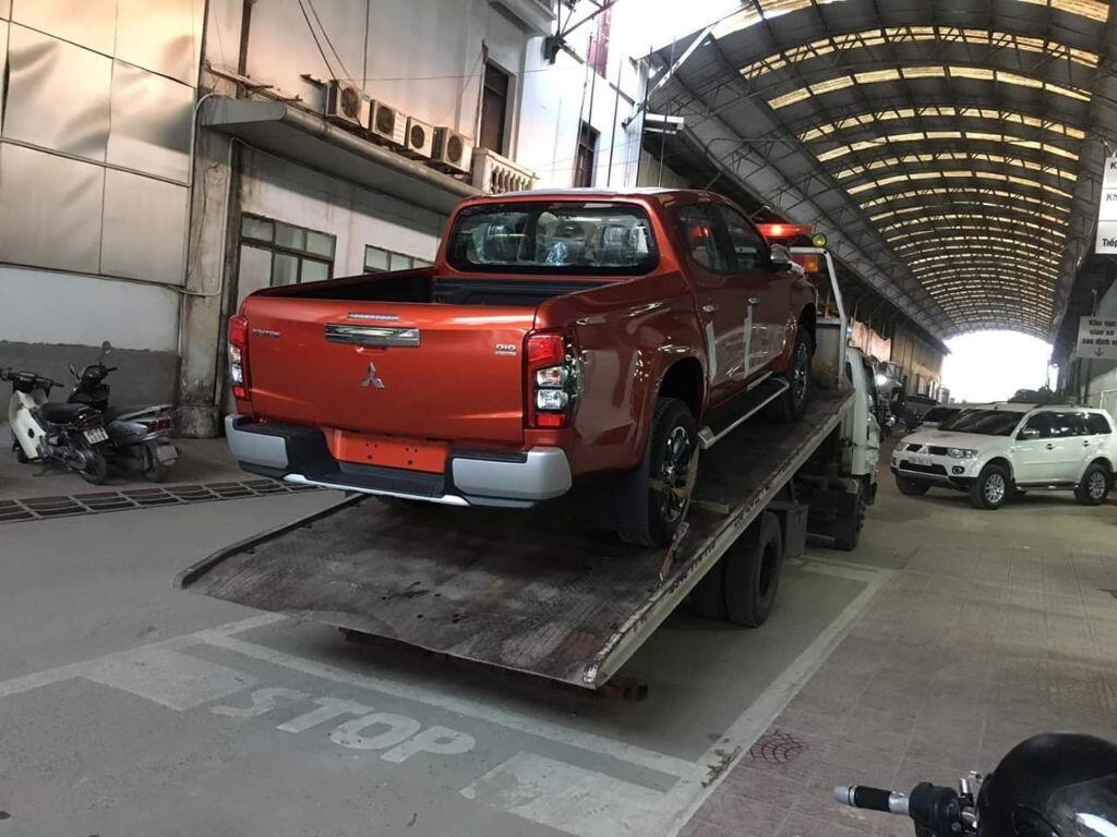Mitsubishi Triton 2019 có mặt tại các đại lý -sẵn sàng giao xe trước Tết Ta - Hình 8