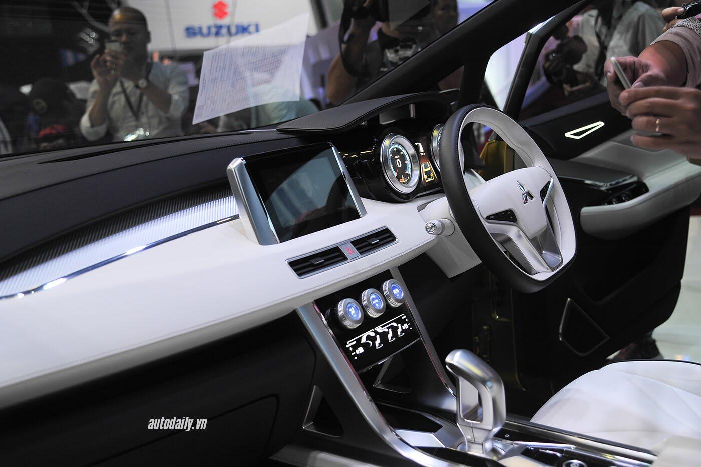 """Mitsubishi XM Concept – """"tâm điểm"""" của Mitsubishi tại VMS 2017 - Hình 9"""