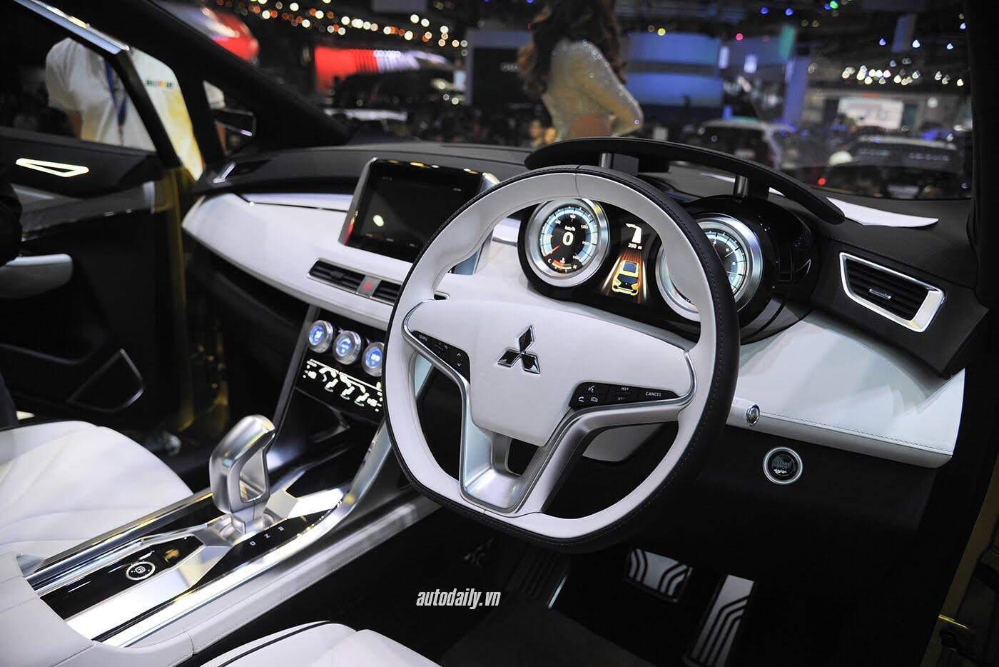 """Mitsubishi XM Concept – """"tâm điểm"""" của Mitsubishi tại VMS 2017 - Hình 10"""