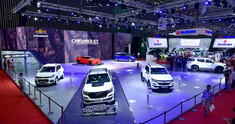 """Một không gian """"đậm chất Mỹ"""" của Chevrolet tại VMS 2017 - Hình 1"""