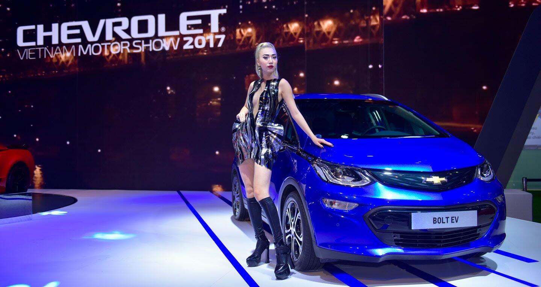 """Một không gian """"đậm chất Mỹ"""" của Chevrolet tại VMS 2017 - Hình 2"""