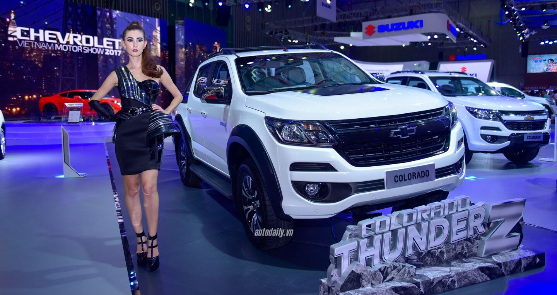 """Một không gian """"đậm chất Mỹ"""" của Chevrolet tại VMS 2017 - Hình 3"""