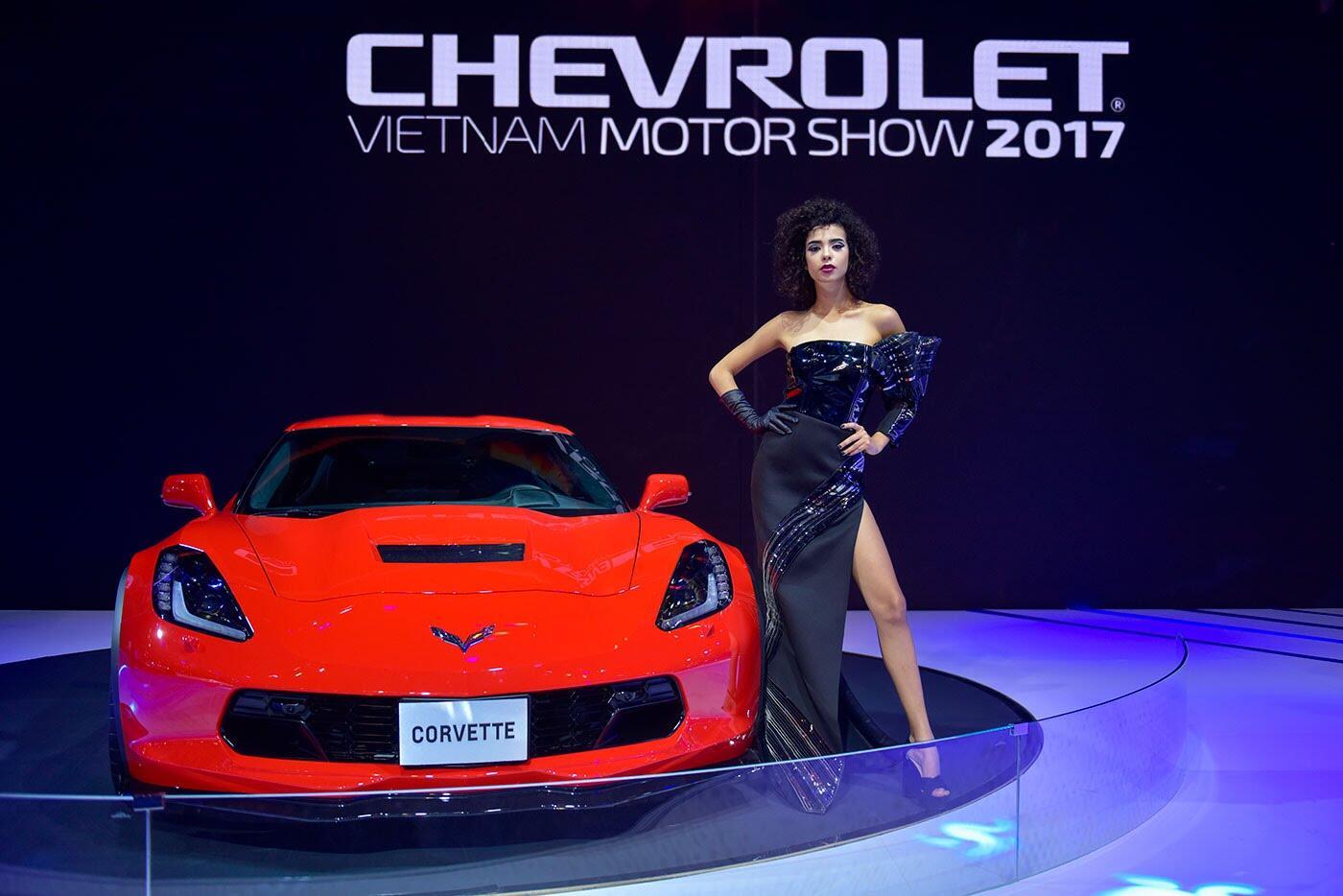 """Một không gian """"đậm chất Mỹ"""" của Chevrolet tại VMS 2017 - Hình 8"""