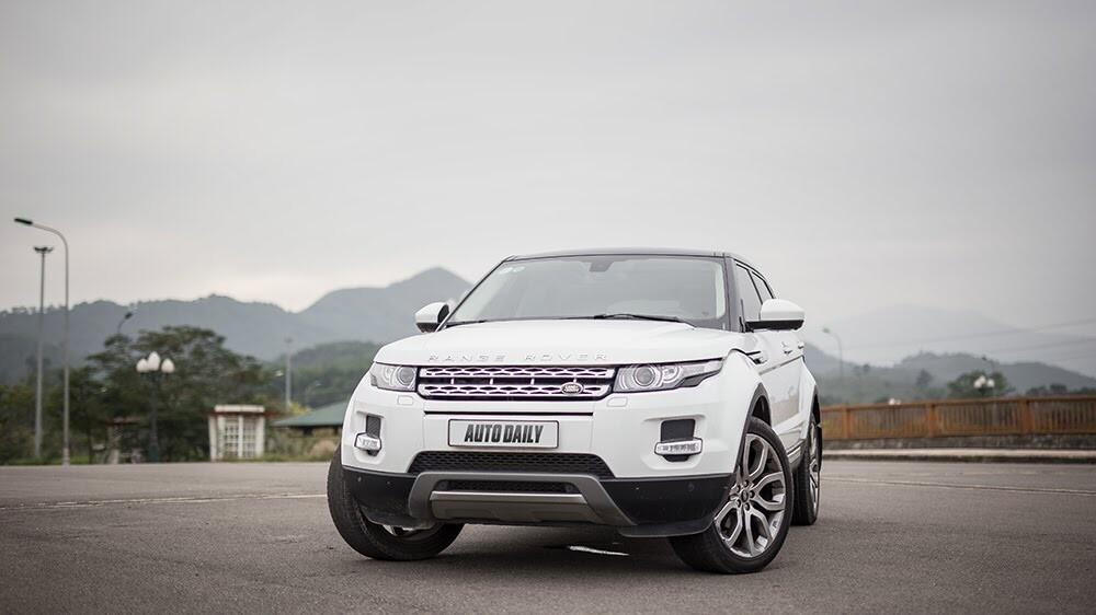 """Một ngày """"thử"""" khả năng địa hình của Range Rover Evoque - Hình 2"""