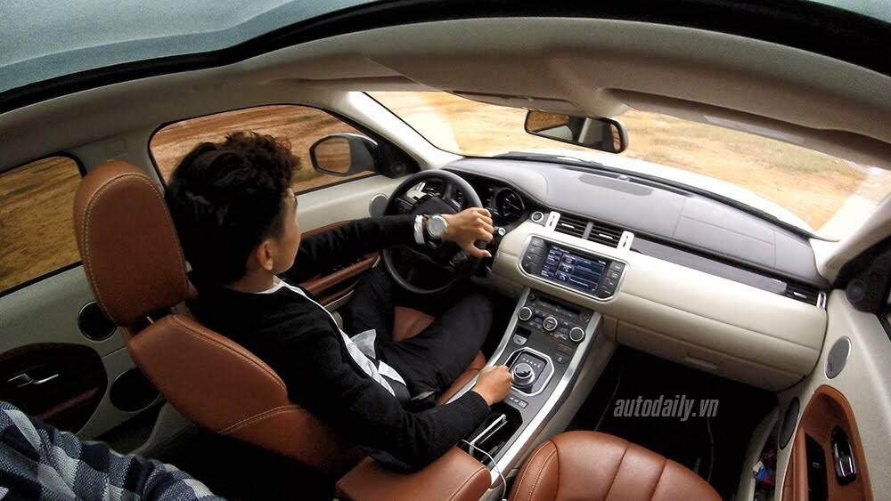 """Một ngày """"thử"""" khả năng địa hình của Range Rover Evoque - Hình 7"""