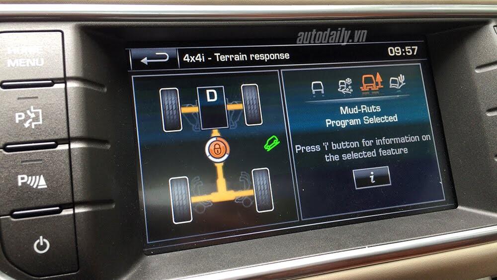 """Một ngày """"thử"""" khả năng địa hình của Range Rover Evoque - Hình 10"""