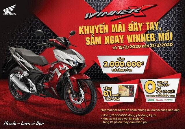 Mua Honda Winner, khách Việt bỏ túi thêm hàng triệu đồng, còn lời hơn nữa nếu bạn ở những tỉnh thành này - Ảnh 2.