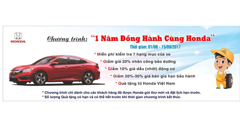 Mua ôtô Honda được hưởng nhiều ưu đãi - Hình 1