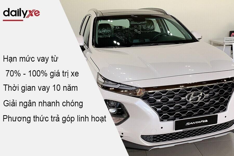 Ưu đãi hấp dẫn mua xe Hyundai trả góp