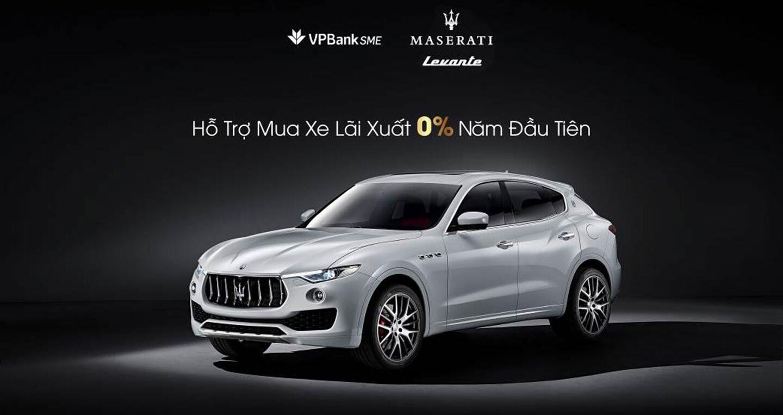 Mua xế sang Maserati Levante với lãi suất 0% - Hình 1