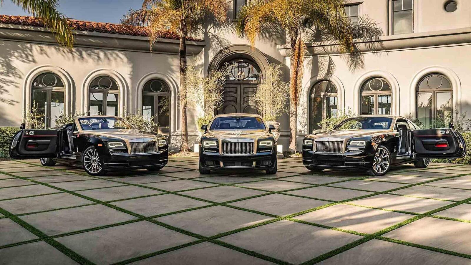 Mừng năm Kỷ Hợi, Rolls-Royce giới thiệu Ghost, Wraith và Dawn phiên bản đặc biệt ''Year of the Pig'' - Hình 1