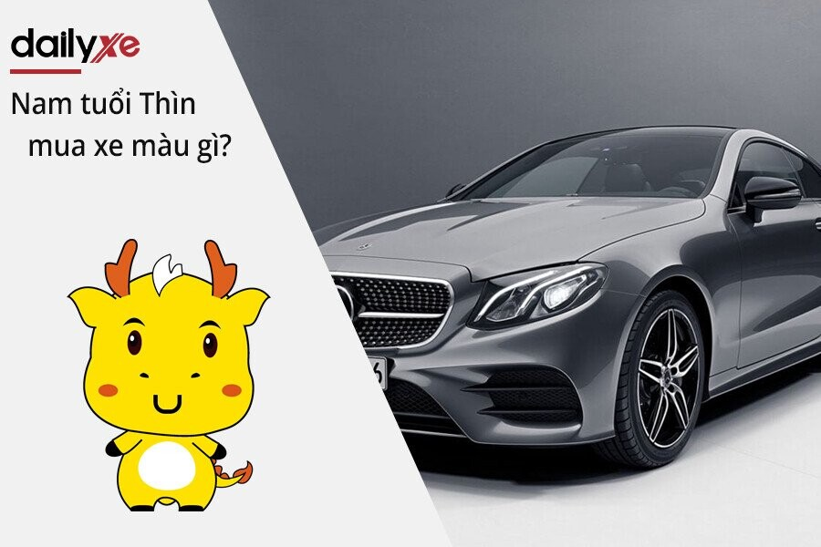 Nam tuổi Thìn mua xe màu gì hợp năm Tân Sửu 2021 ? | DailyXe