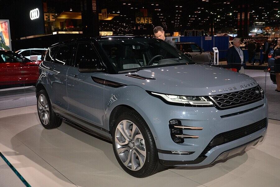 Tổng Quan New Range Rover Evoque