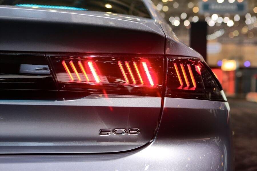 Ngắm tận mắt Peugeot 508 hoàn toàn mới tại Geneva 2018 - Hình 4