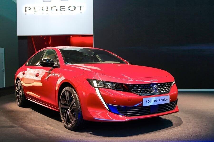 Ngắm tận mắt Peugeot 508 hoàn toàn mới tại Geneva 2018 - Hình 8