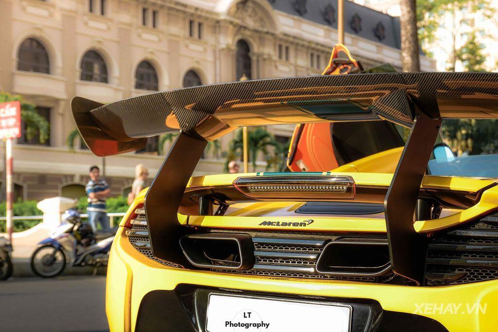 Ngỡ ngàng trước vẻ đẹp của McLaren 650S Spider độ LibertyWalk độc nhất tại Việt Nam