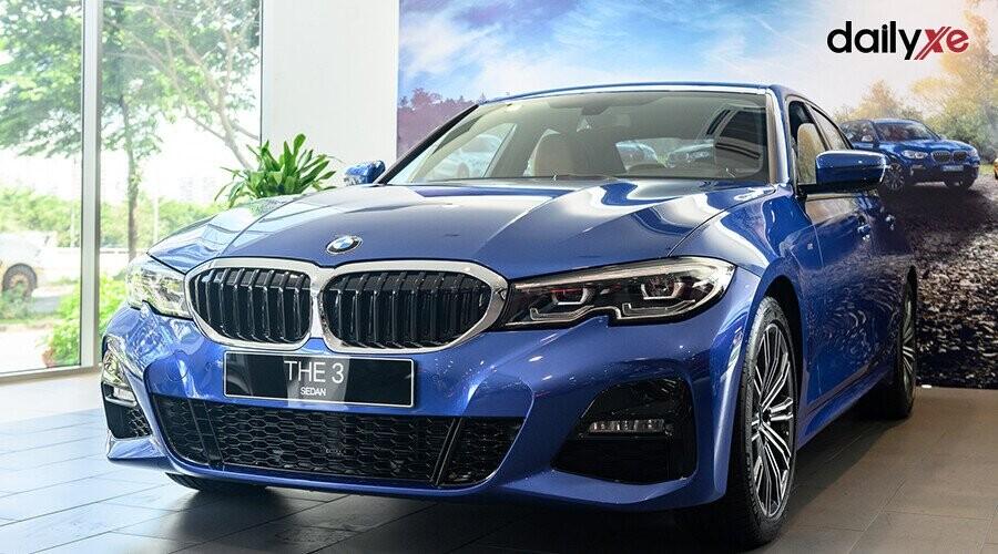BMW 330i M Sport ngoại thất thiết kế thể thao