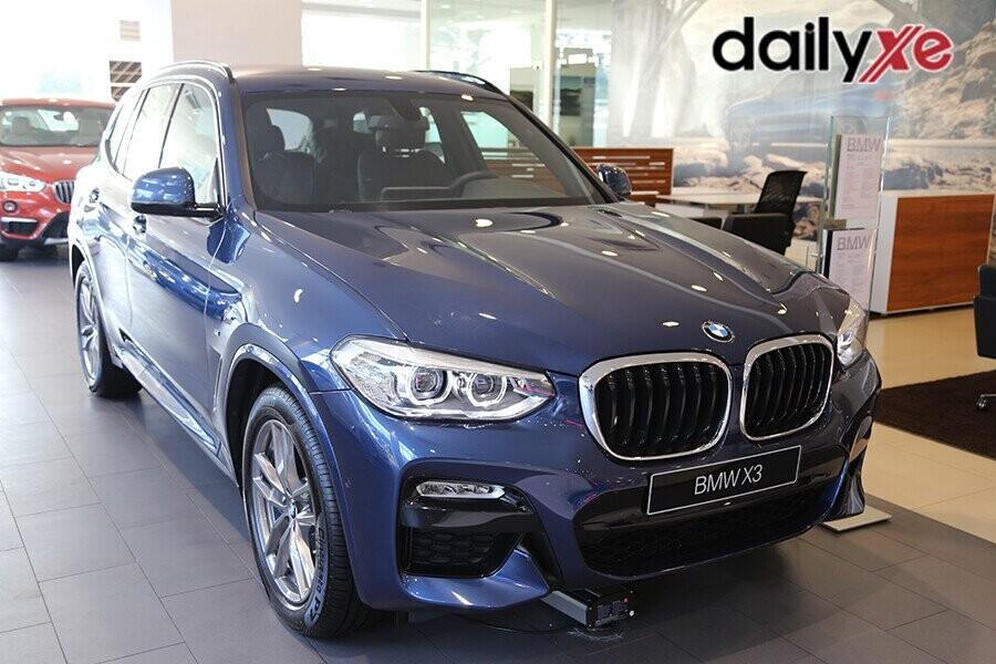Ngoại thất BMW X3 thiết kế sang trọng
