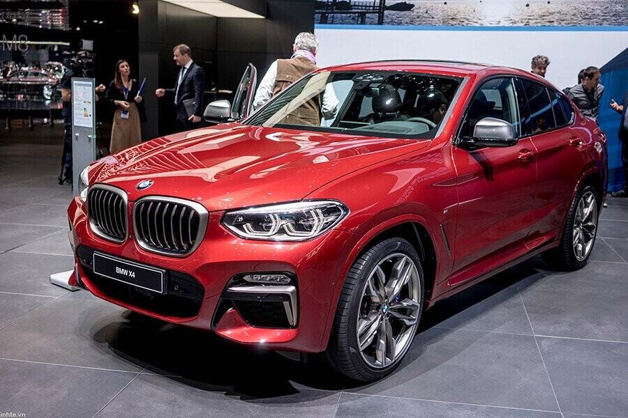 BMW X4 sự kết hợp giữa tính thẩm mỹ của một chiếc coupé với sức mạnh và sự năng động điển hình của một chiếc xe thuộc dòng X
