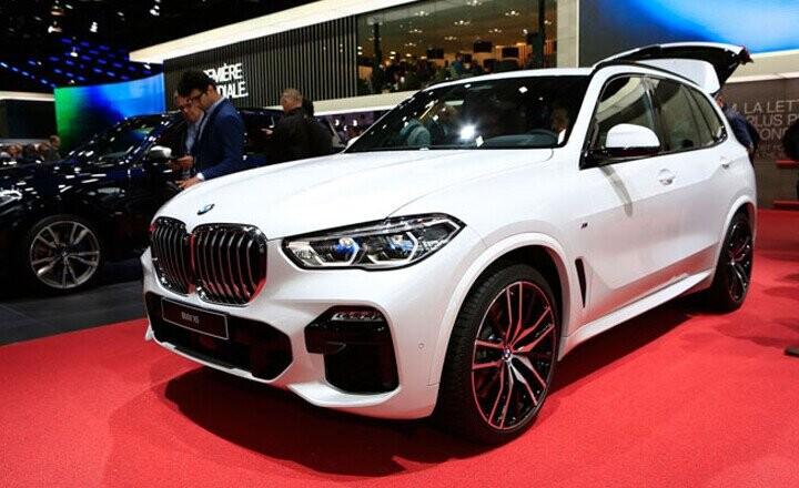 BMW X5 thiết kế sang trọng mang đậm tính thể thao