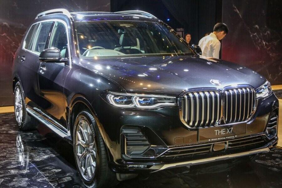 BMW X7 là chiếc SUV thể thao hạng sang